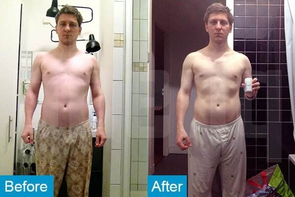 Ghislain Phenq Diet pills before and after