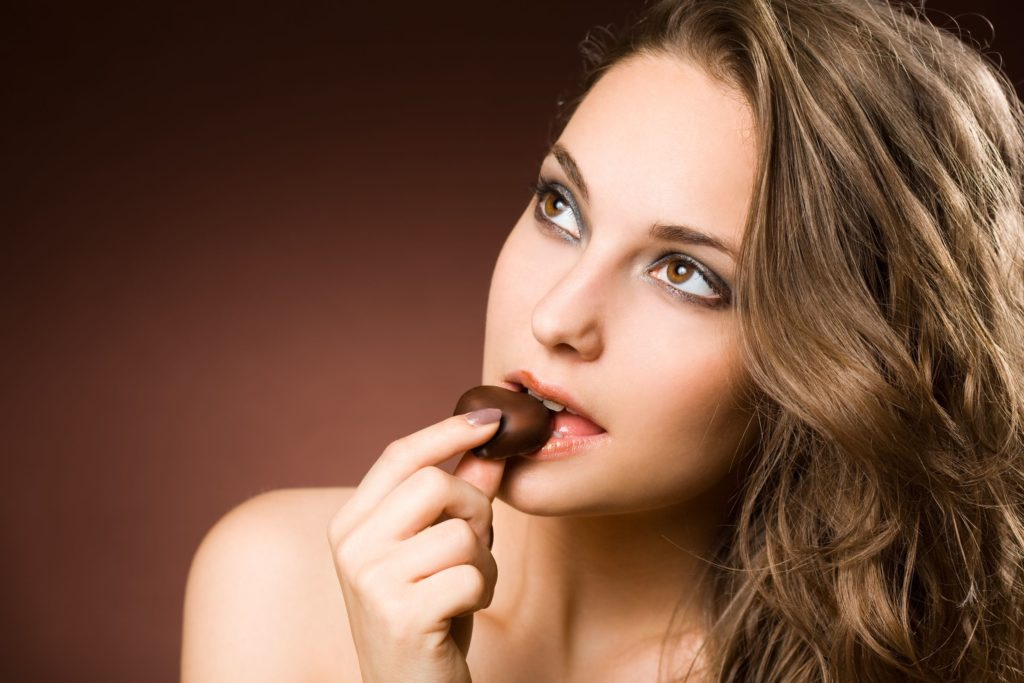 cholestrol in chocolate