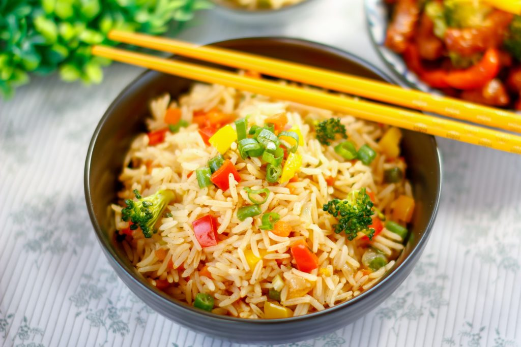 indian vegetable rice diet
