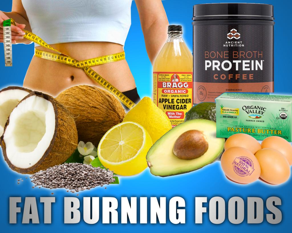 Top 10 Best Fat Burning Foods for Burn Calories (Fat)