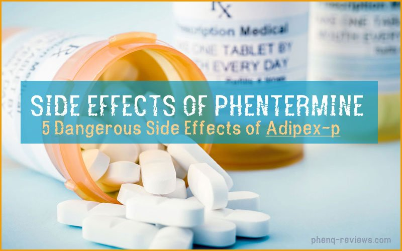 side effects of diet pill phentermine